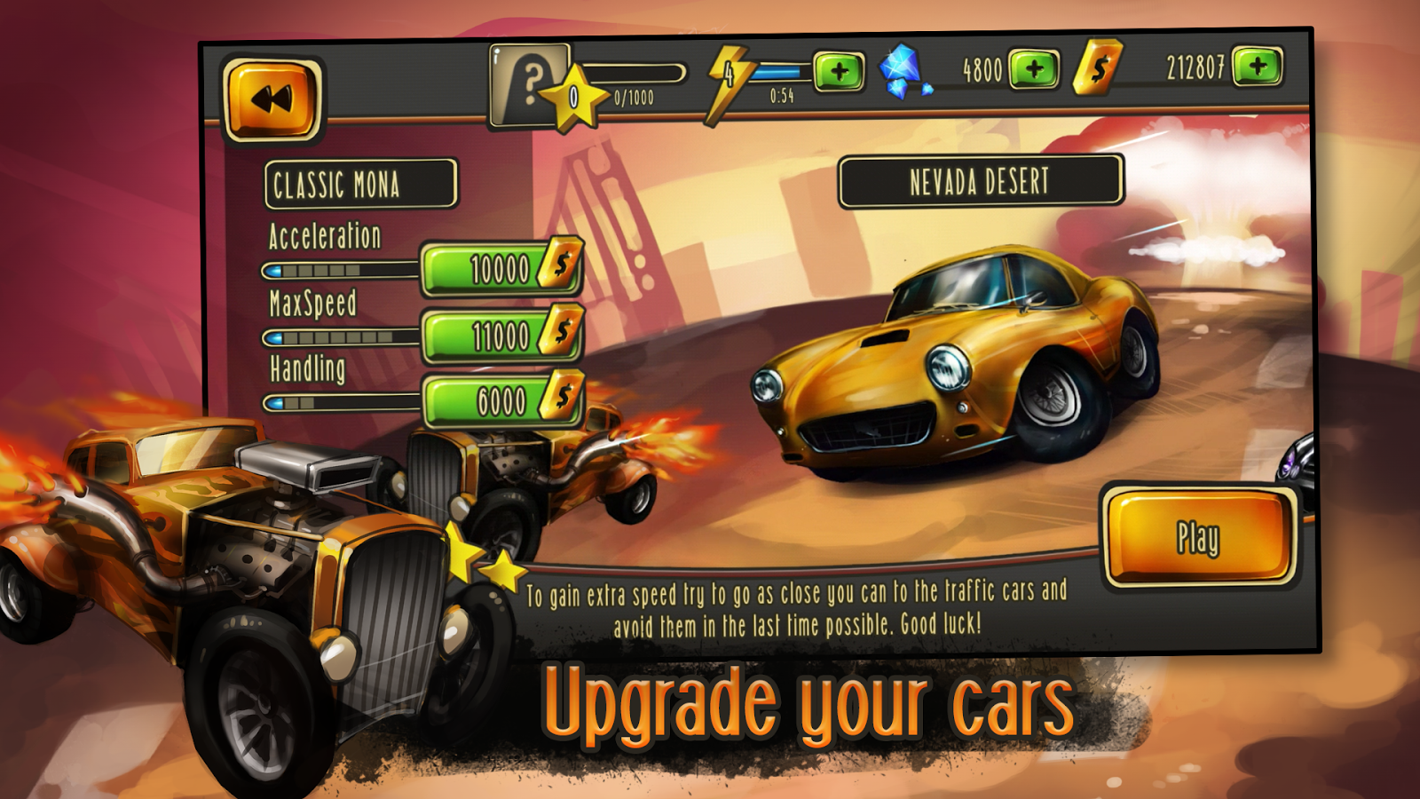 Adrenaline Racing Screenshot 1