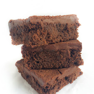 Gluten Free Brownies with Mocha Frosting