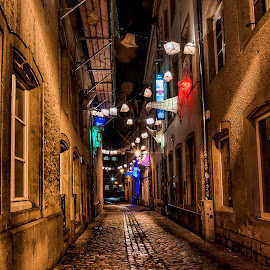 by Dragan Rakocevic - City,  Street & Park  Night (  )