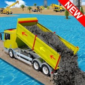 Crane Construction City Road Builder APK for Bluestacks