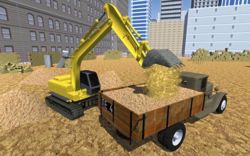 Sand Excavator Crane Simulator - screenshot