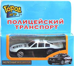 """Машинка """"Полиция"""" Спортивная Metro Police"""