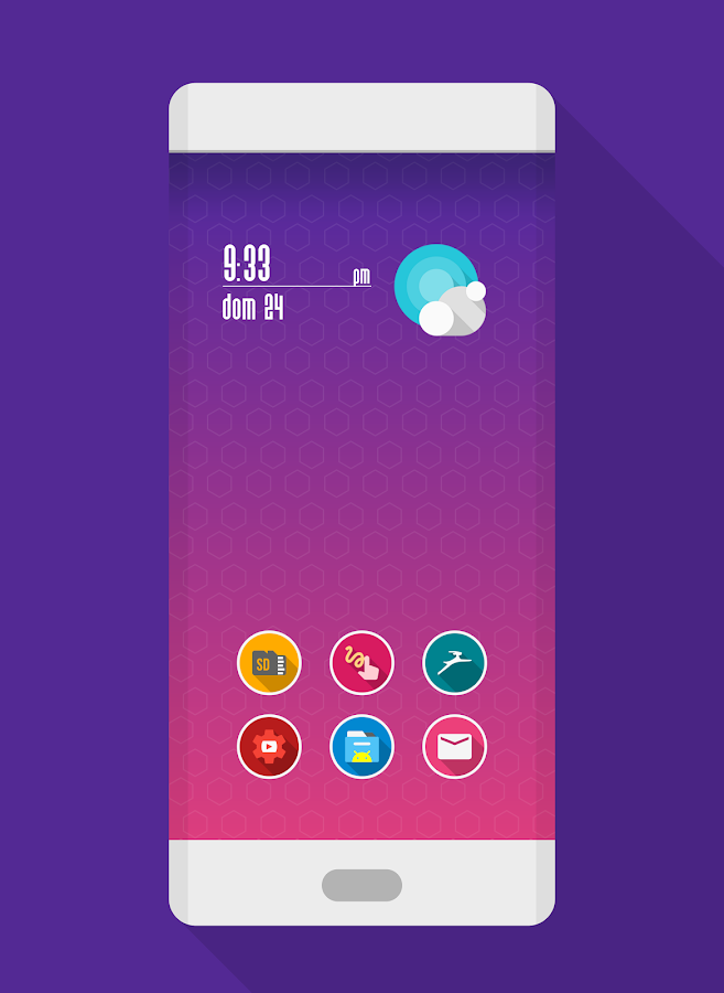 ROUNDEX - ICON PACK Screenshot 1