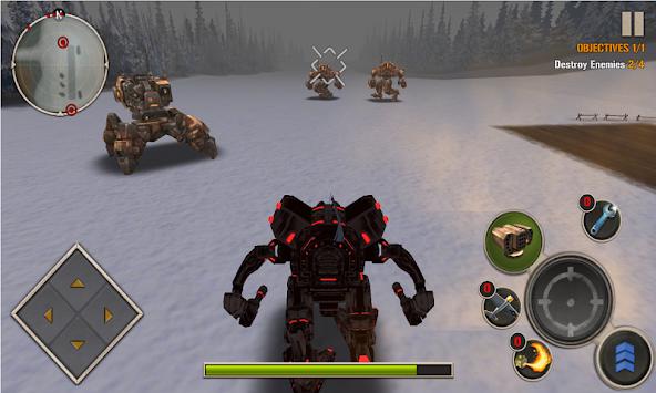 Mech Legion: Age of Robots apk screenshot