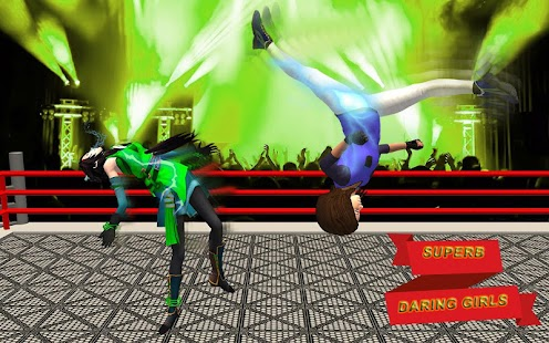 Free Real Woman Steel: Ring Wrestling Fighting APK for Windows 8
