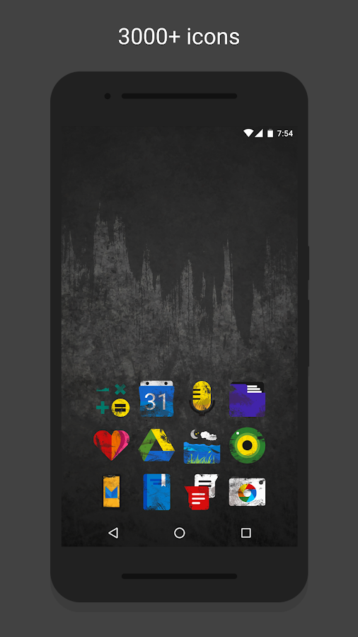 Ruggon - Icon Pack Screenshot 1