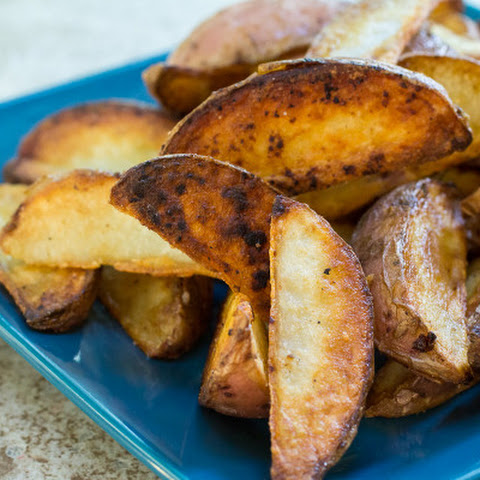 Pan Fried Potato Wedges