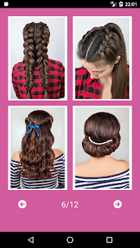 Best Hairstyles Step By Step APK screenshot thumbnail 9