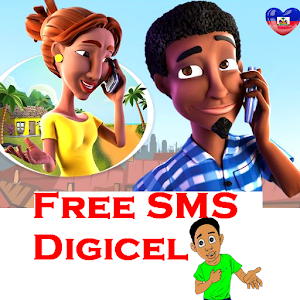 Digicel Free sms Haiti for Android