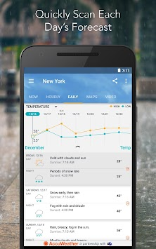 AccuWeather Platinum APK screenshot thumbnail 5