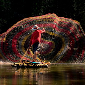 fisherman by Doeh Namaku - People Professional People