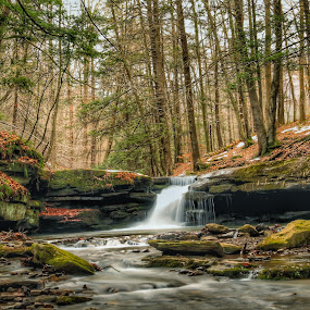 by Kelly Bowers - Landscapes Waterscapes ( #waterfall )