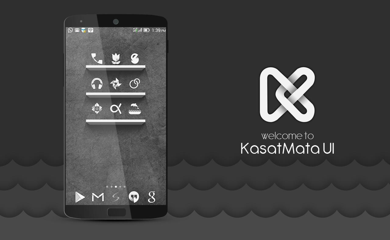 KasatMata UI Icon Pack Theme Screenshot