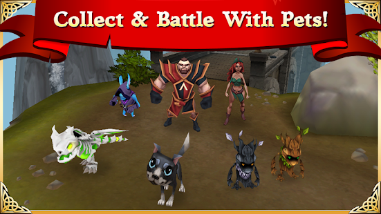 Arcane Legends MMO-Action RPG APK for Ubuntu
