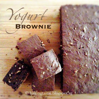 Quick & Easy Yogurt Brownie