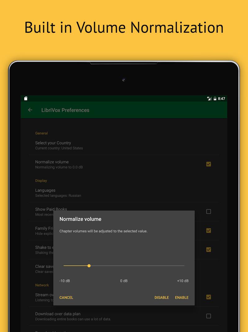 LibriVox Audio Books Supporter Screenshot 15