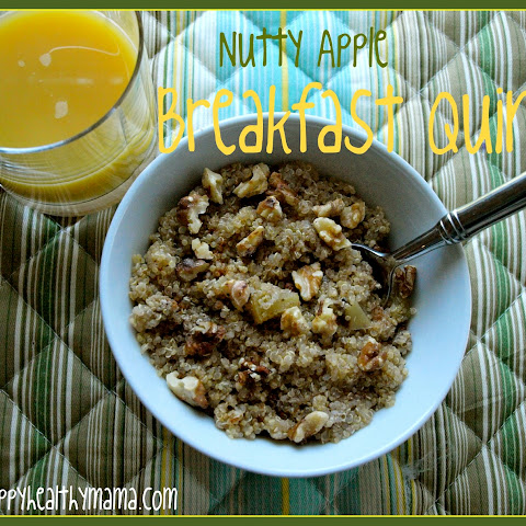 Nutty Apple Quinoa Breakfast