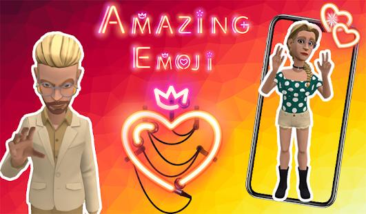 Ar Emoji 3D Emoji Avatar  Fun your Chat for pc