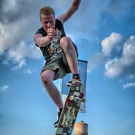 by Dragan Rakocevic - Sports & Fitness Skateboarding