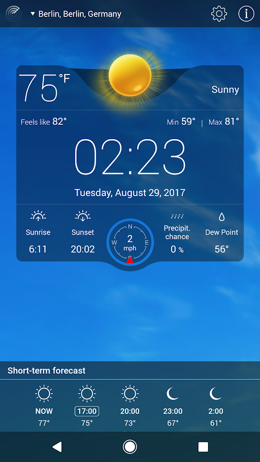 Weather Live Free Screenshot 7