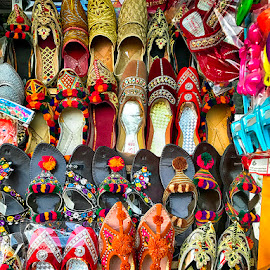 Khusa by Abdul Rehman - Artistic Objects Other Objects ( shoes, pakistan, fancy, multan, colorful )