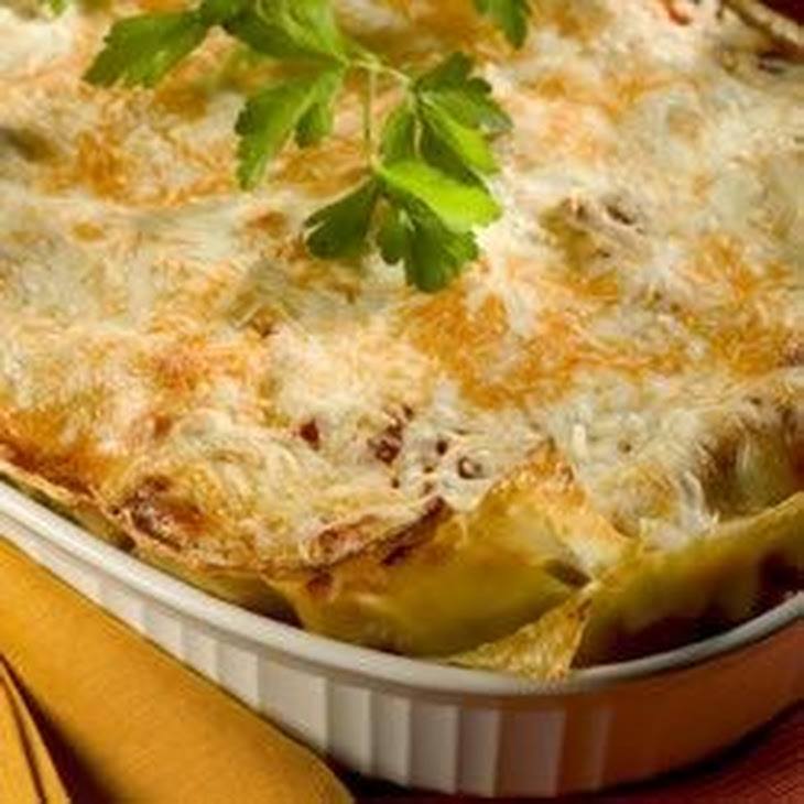 Vegetarian Four Cheese Lasagna Recipe | Yummly