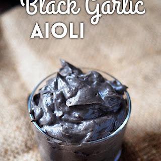 Black Garlic Aioli Recipes
