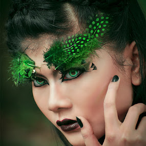 Beauty of Green by Luthfi Hidayat - People Fine Art
