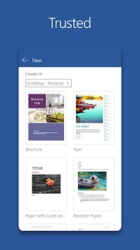 Microsoft Word APK screenshot thumbnail 2