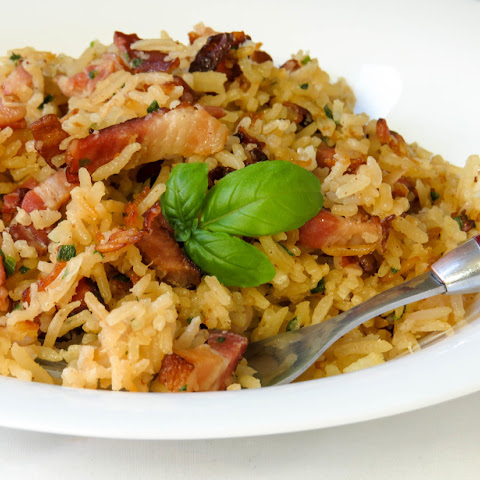 Quick & Easy Bacon Rice