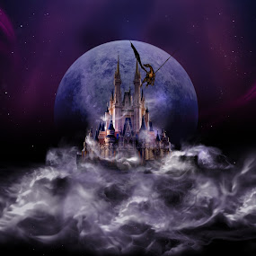 Dream Castle 2 by S. S. - Digital Art Abstract ( digital art )