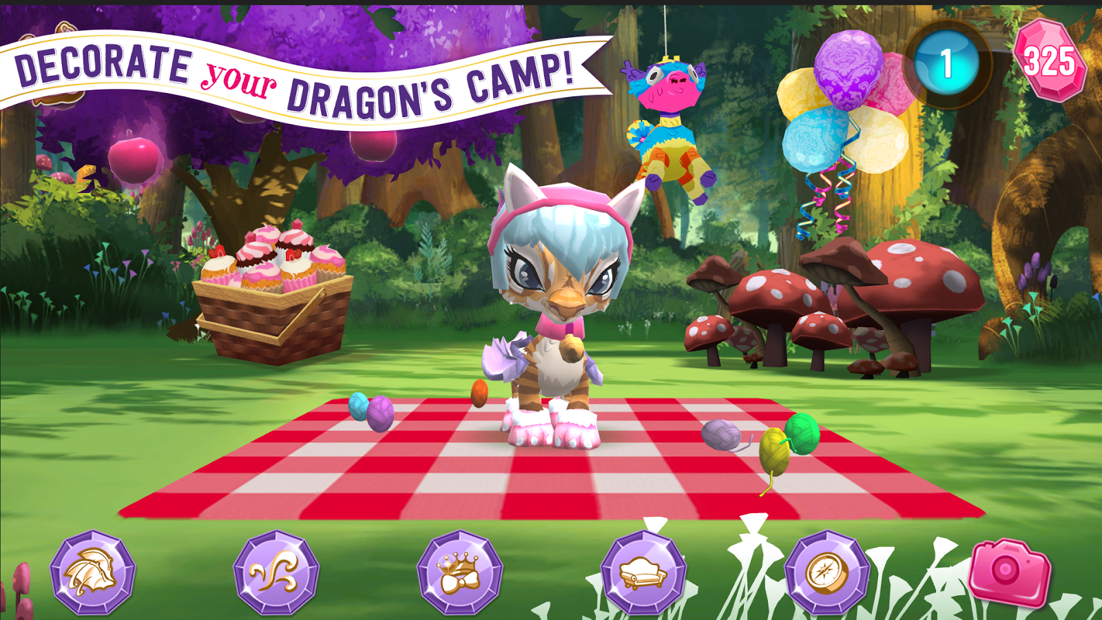 Ever After High™: Baby Dragons Screenshot 2