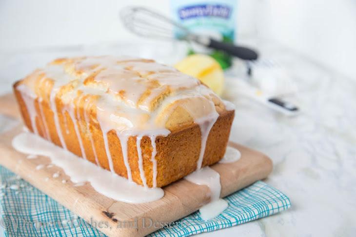 Iced Almond-Lemon Loaf Cake Recipe | Yummly