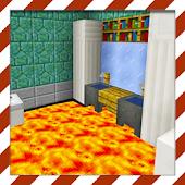 Floor is Lava. MCPE maps parkour