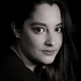 Sofia M by Eric Abbott - People Portraits of Women ( 2017, eric abbott photography, business head shots, black and white, nikon d610, colorado, portraits, sofia )
