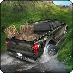 Extreme Off-road Pickup Truck Driving Simulator Icon