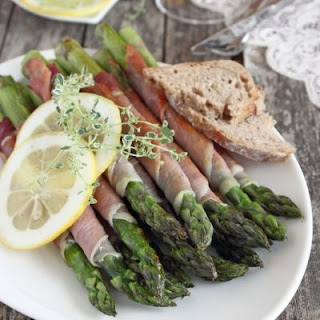 Ham And Cheese Wrapped Asparagus Recipes