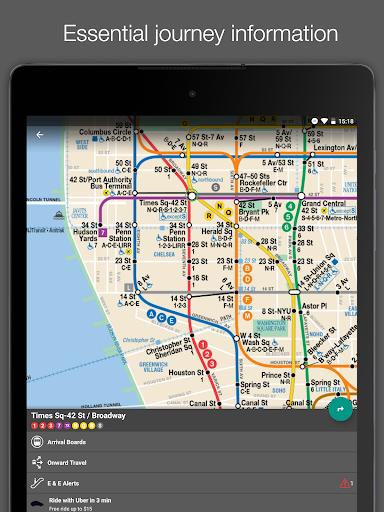 New York Subway MTA Map (NYC) - screenshot