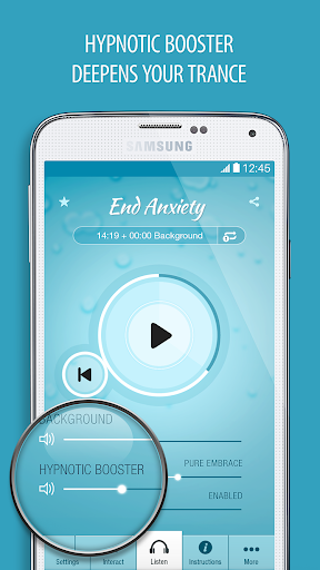 Anxiety Relief Hypnosis Pro - screenshot
