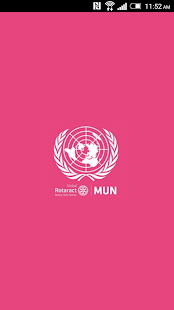 Rotaract MUN - screenshot