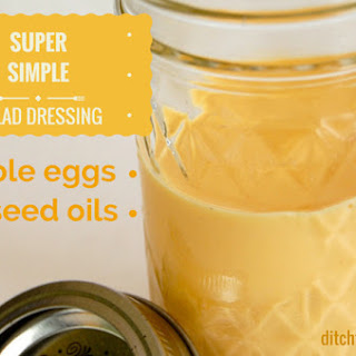 Super Simple Salad Dressing