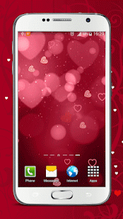 Valentines Day Live Wallpaper - screenshot