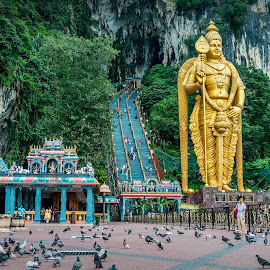 by Joey Rico - Buildings & Architecture Places of Worship ( batucaves, batu caves, malaysia, worship )