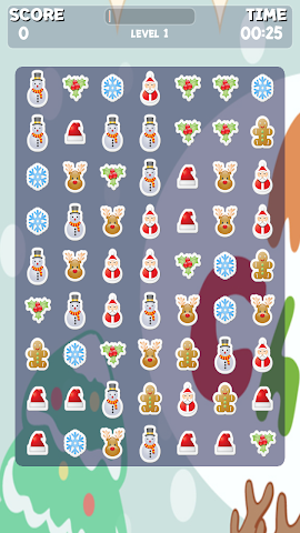 android Christmas Sweeper Game Screenshot 1