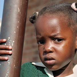 African Girl by Tomasz Budziak - Babies & Children Child Portraits ( child portrait, africa, portrait )