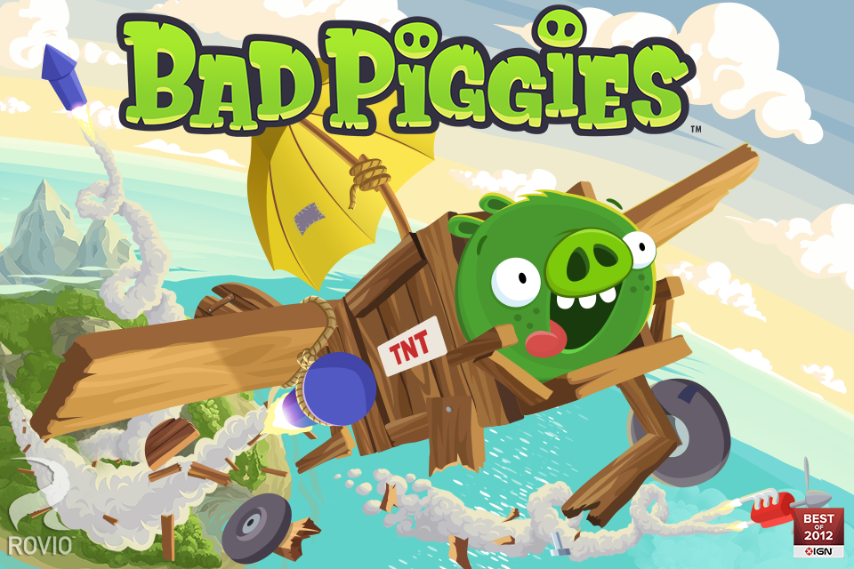 Bad Piggies screenshots