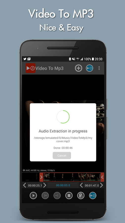 Video to mp3 Screenshot 4