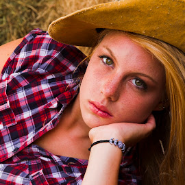 Camila by Fok Vleeshakker - People Portraits of Women ( farm, model, star, cowgirl, lady,  )