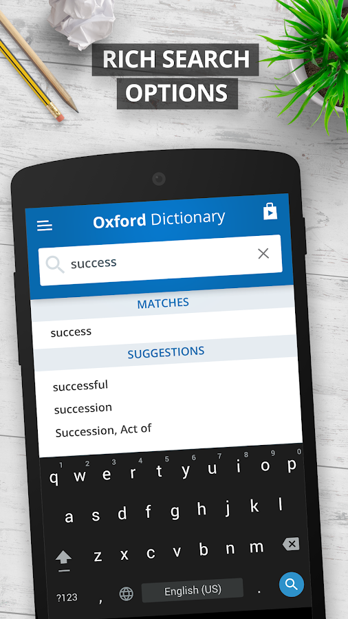 Oxford Dictionary of English Free Screenshot 1