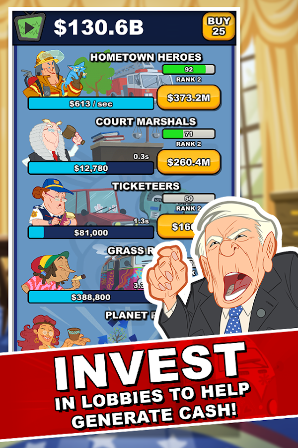 Pocket Politics Screenshot 1